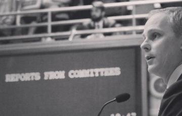 Senator Stevens Spends Session Focused on Agriculture